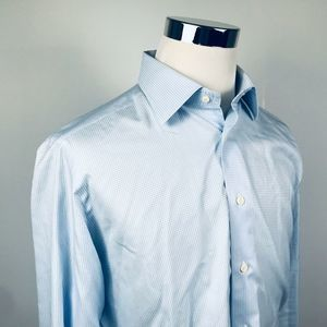 David Donahue 16 1/2 34/35 Trim Fit Dress Shirt